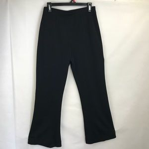 Exclusively Missok thin knit black pants M